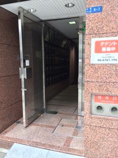 経路3-第5松屋ビルの入口